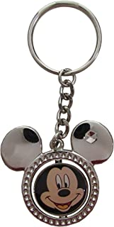Disney Mickey with Ears Metal Spinner Keychain-keyring