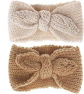 Turban-Headband Warm-Rabbit-Knot-Hair-Band Baby-Girl - Knit Head Wrap for Newborn, Toddler and Children