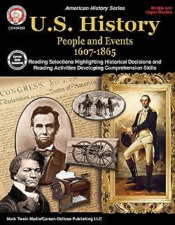 Carson-Dellosa U.S. History Resource Book, Grades 6-12
