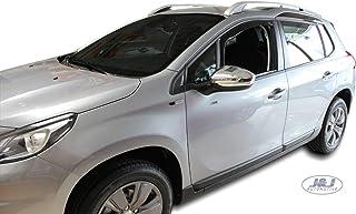 Farad Deflectores de Viento para Peugeot 207//207/Plus 3/Puertas 2006/