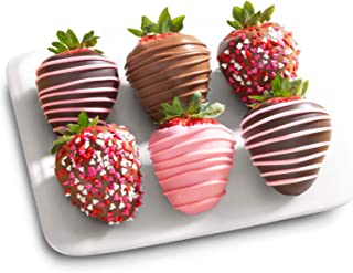 6 Love Berries Mothers Day Chocolate Covered Strawberries