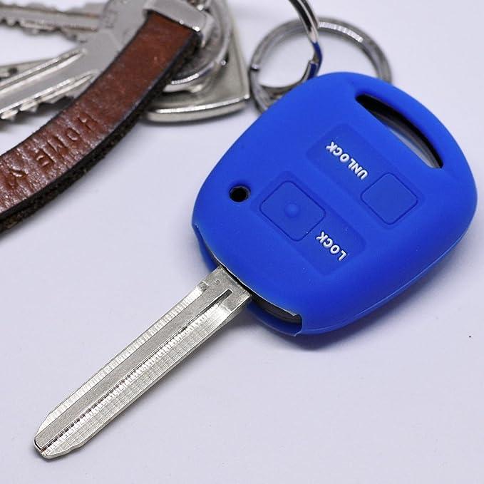 Soft Case Schutz Hülle Auto Schlüssel Für Toyota Yaris Elektronik