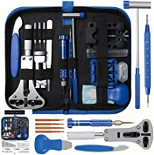 208pcs Watch Repair Tool Kit, Lifegoo Upgraded Version Watches Tools Kits Battery Replacement Watchband Link Remover Adjus...