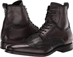 Irving Panelled Wing Tip Boot