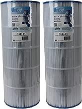 Unicel 2 C-8414 Replacement Cartridge Filters 150 Sq Ft Waterway Clearwater II