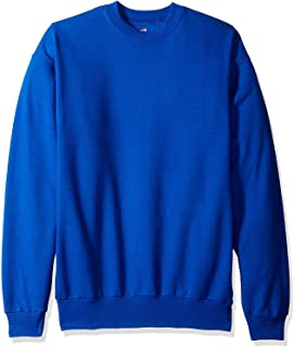 Hanes ComfortBlend EcoSmart Crew Sweatshirt_Deep Royal_4XL