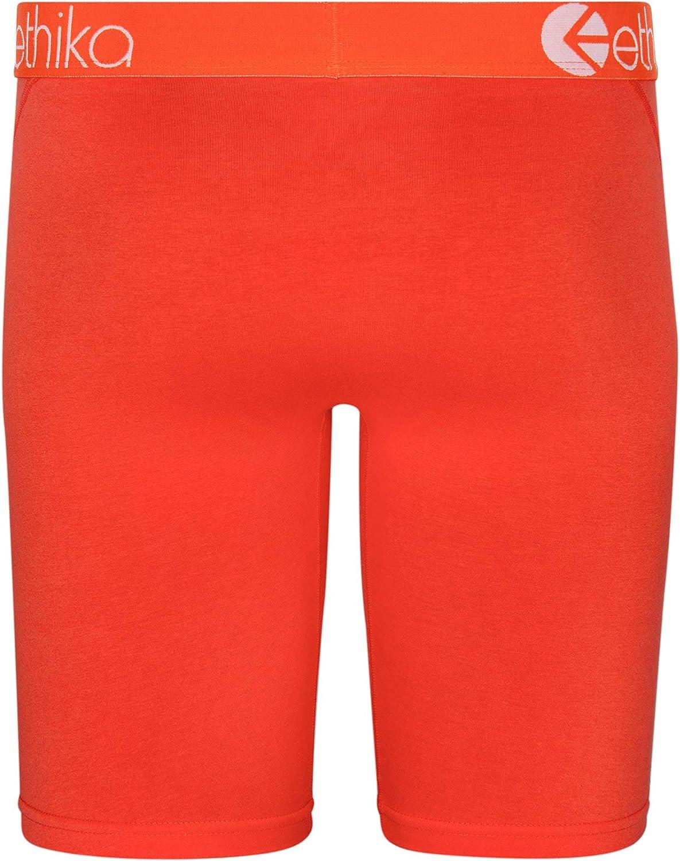Ethika Mens Staple Boxer Briefs   Native Orange