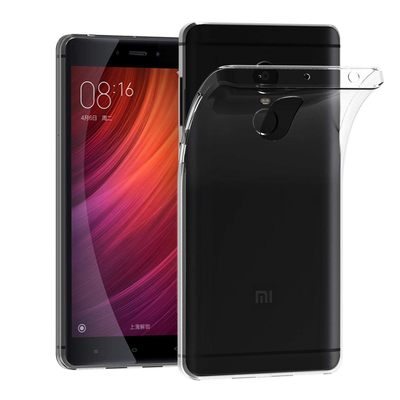 ivoler Funda Carcasa Gel Transparente para Xiaomi Redmi Note 4 ...