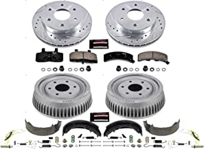 Power Stop Front & Rear K15035DK Performance Pad, Rotor, Drum and Shoe Kits