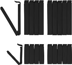6 Stück Beutelverschluss Beutelclip Tütenclips Verschlussclips 6 cm 8 cm 11 cm