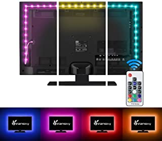 LED Strip Lights,Vansky Bias Lighting Strip for TV USB Powered for 40-60 Inch Flat Screen TV,...