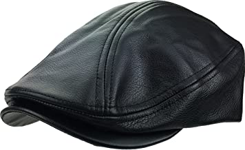 Gatsby Ivy Collection Classic Newsboy Cabbie Applejack Leather Hats Caps