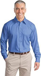 Port Authority Men's Tall Long Sleeve NonIron Twill Shirt