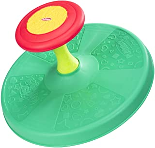 Playskool Sit 'n Spin Classic Spinning Activity Toy for Toddlers Ages Over 18 Months  (Amazon Exclusive),Multicolor