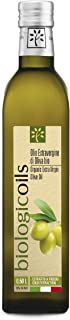 biologicoilsイタリア産有機エキストラヴァージンオリーブオイル 500ml コールドプレス(低温圧搾)製法