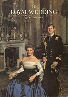 Royal Wedding Official Souvenir (Andrew and Sarah)
