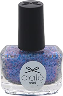 Ciate London Mini Paint Pot Nail Polish and Effects with a Blend of Glitter Blue Sequins for Women, Risky Business/Switching, 0.17 Ounce