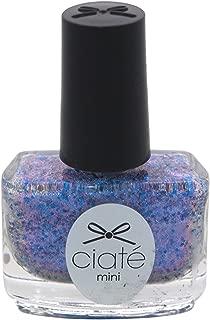 glitter blend nails