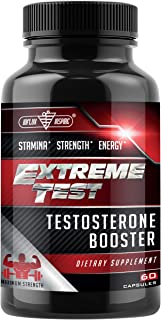 Testosterone Booster for Men – Test Boost Advanced Male Enhancing Pills –..