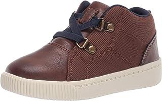 Carter's Kids' Edison Slip on High Top Casual Shoe Sneaker