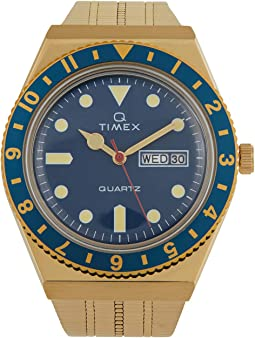 38 mm Q Timex Color Series Stainless Steel Case