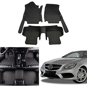 Fußmatten für Mercedes Benz W211 S211 E-Klasse Gummimatten BEIGE NEU 3D Gummi