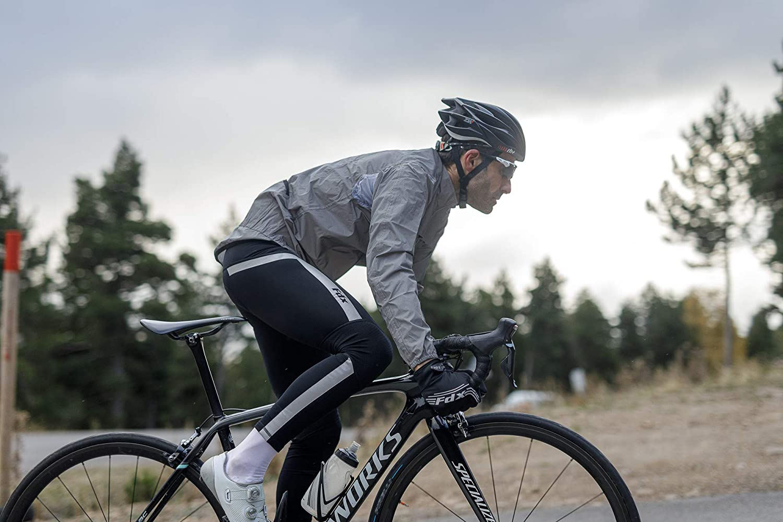 FDX Mens Performance Cycling Bib Tights Winter Thermal Padded Leggings Cycling Trouser