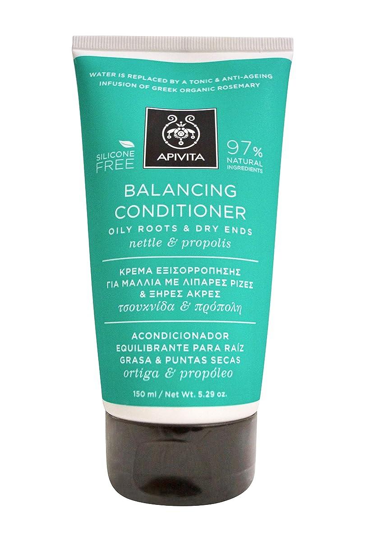首手がかりあらゆる種類のアピヴィータ Balancing Conditioner with Nettle & Propolis (Oily Roots & Dry Ends) 150ml [並行輸入品]
