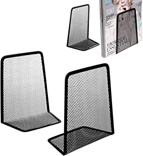 Mayoaoa Serre-livres en m/étal pour bureau 15 x 7 x 12,5 cm WGY