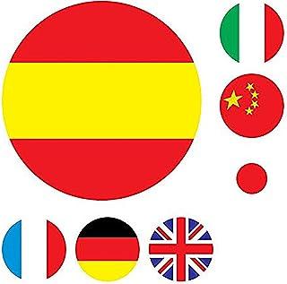 Amazon.es: pegatinas banderas paises: Coche y moto