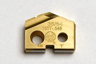 .7187 23//32 DIAMETER SPADE DRILL INSERT SERIES 1 SUPER COBALT TIN COATED