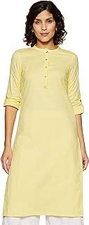 W for Woman Women's Cotton Straight Kurta