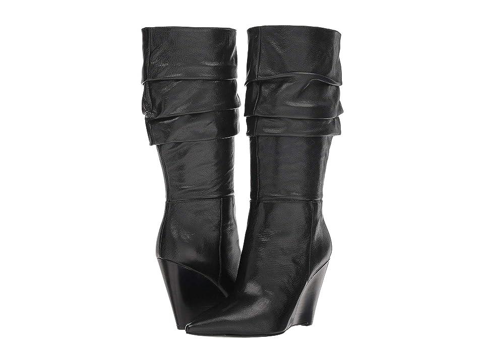 Nine West Vernese (Black Leather) Women