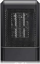NXL Calefactor Cerámico De Rápido Calentamiento Termostato,Calefactor Vertical, Termostato Regulable Función Eco, Función Silence Elemento De Cerámica Ventilador Calefactor De Aire Caliente