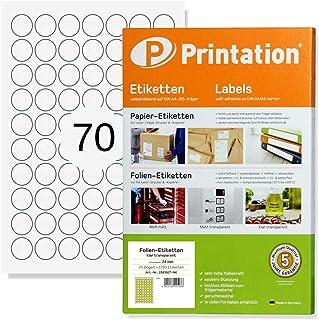 Pellicola adesiva 10/x DIN A4/bianco lucido/ Outdoor a stampabile impermeabile per stampanti Laser /Stampante schermo bendaggio resistente alle intemperie