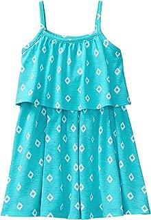 Gymboree Girls' Sleeveless Ruffle Printed Dress