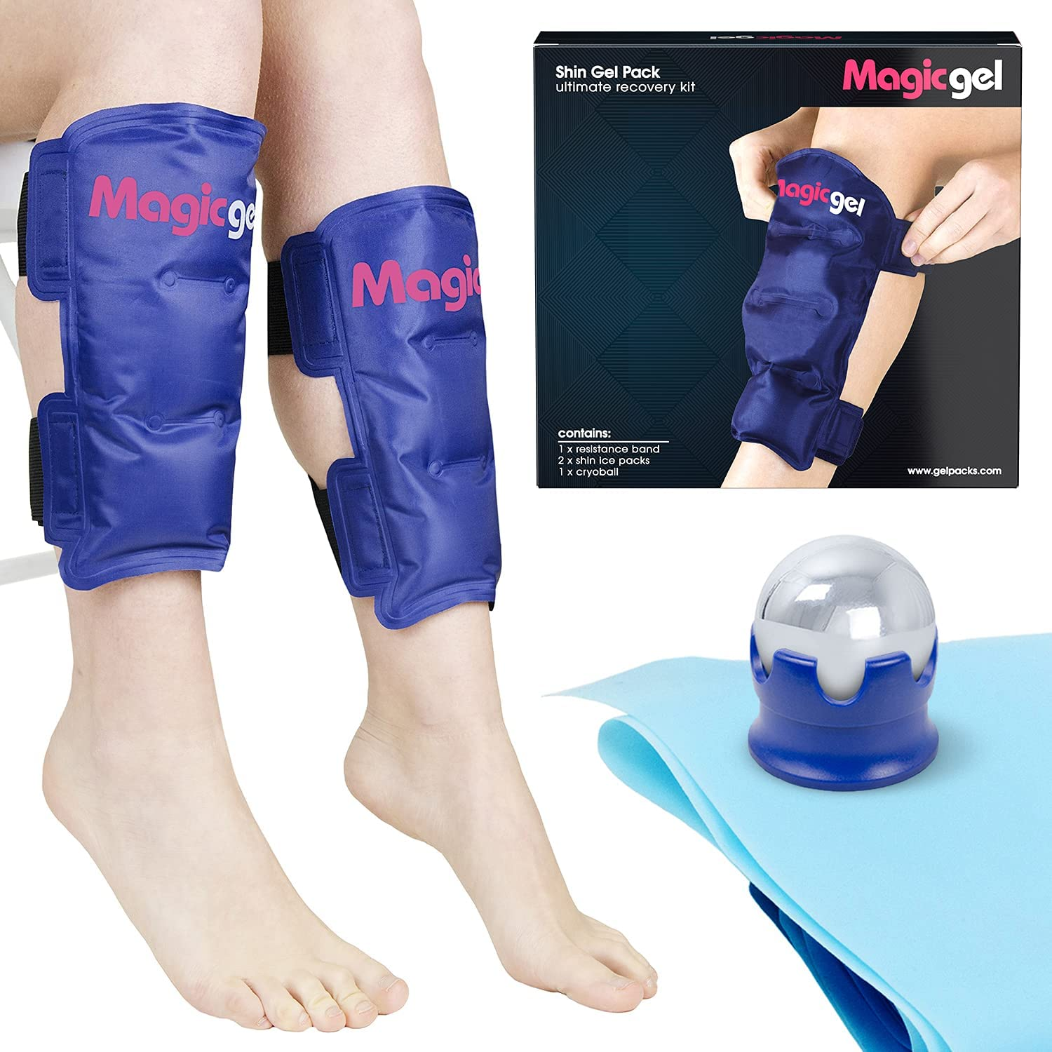 Shin Splint Relief: Ice Packs for Ultra-Cheap Deals Max 48% OFF Splints and Str Cryoball