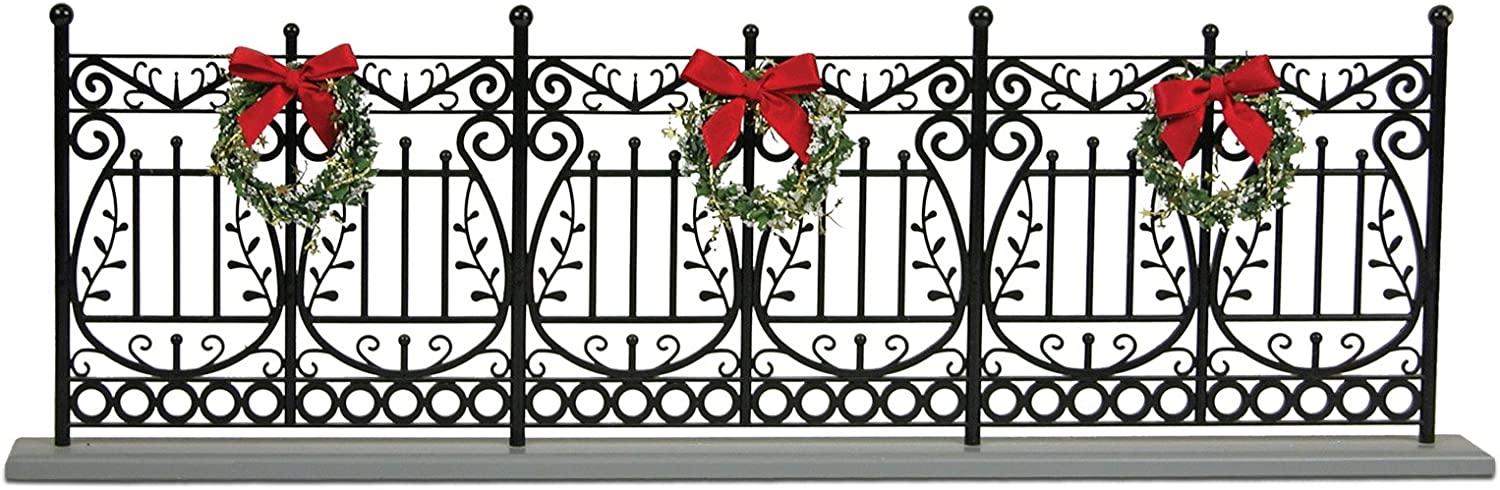 Byers' Choice cheap Wrought Albuquerque Mall Iron Fence