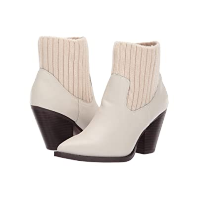 JANE AND THE SHOE Margot (Off-White Leather) Women