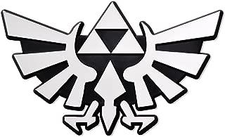 Triforce Wings Chrome Auto Emblem 3