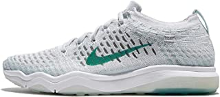 Nike Women's Wmns Air Zoom Fearless Flyknit, WHITE/WOLF GREY-HYPER GRAPE