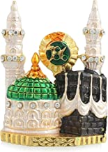 MYRA INC Mecca Madina 786 Metal Stone Studded Decorative Showpiece Religious Gift Item for Car Dashboard Home Decor