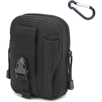 Noir sac de ceinture police sécurité EMBALLES tactische sac pour MOLLE système
