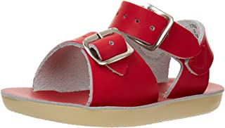 Salt Water Style 1700 Sun-San Surfer Sandal,Red,3 M US Infant