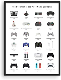Retro Video Game Posters for Walls by Haus and Hues | Video Game Wall Art and Gamer Poster | Gamer Decor for Boys Room | G...