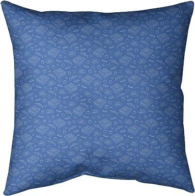 Pillow Perfect Outdoor Indoor Delancey Lagoon 25-inch Floor Pillow 609577