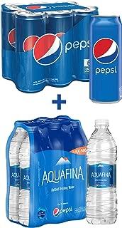 Pepsi Soft Drink 6 x 355 ml + Aquafina Water 6 x 500 ml