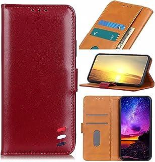 Dalchen Compatible for Case Huawei Enjoy Z 5G, 2 Card Slots 1 Cash Pockets Wallet Cover, Leather Flip Magnetic Button Kick...