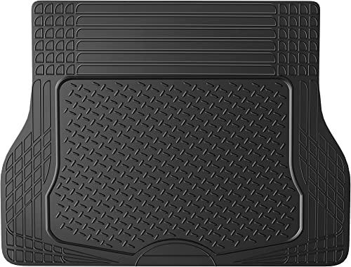 2021 OxGord WeatherShield HD Rubber Trunk Cargo discount outlet online sale Liner Floor Mat, Trim-to-Fit for Car, SUV, Van, Trucks Black online