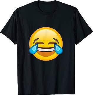Emoticon Face Tears of Joy Emoji T-shirt